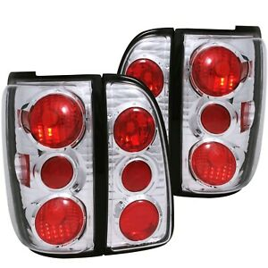 Anzo Tail Lights Chrome For 98 02 Lincoln Navigator