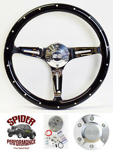 1967 Camaro Steering Wheel Ss 15 Black Wood