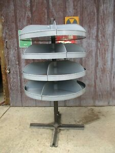 Frick gallagher Rotabin 4 Shelf Used 63 High 36 W Industrial Storage Bin