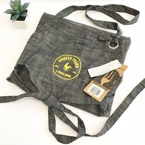 Chef Works Apron Urban Collection Chicken Pharm Nwt Gray