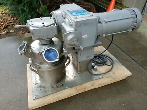 Ross Ldm 2 Double Planetary Vacuum Mixer Free Shipping
