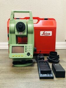 Leica Tcr 803 3 Ultra R300 Reflectorless Total Station For Surveying