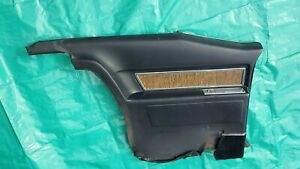 Oem 1970 Cadillac Lh Driver Side Rear Coupe Deville Armrest Panel Black