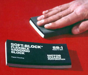 Motor Guard Sb 1 Sanding Block Soft Block Flexible Double Density
