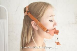 Vintage Rubber Mouth Gag Breathing Apparatus