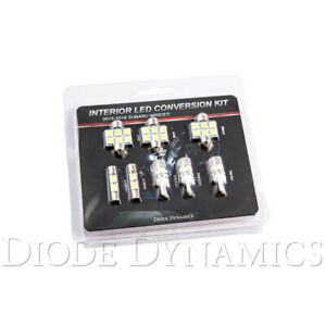 Diode Dynamics Stage 2 Led Interior Lighting Kit cool White For 15 Wrx
