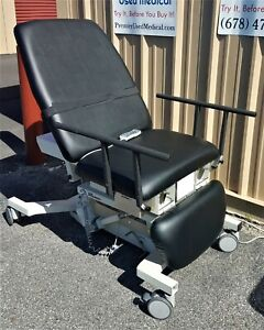 Biodex Ultrasound Pro Table W Hand Control 058 720 New Black Upholstery