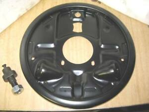 New 9 5x2 Drum Brake Backing Plates Gm Monte Carlo Ss Regal Cutlass Grand