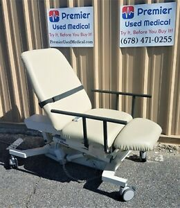 Biodex Ultrasound Pro Table W Hand Control 058 720 New Creme Upholstery