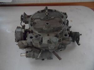 Vintage Gm Rochester Products Carburetor