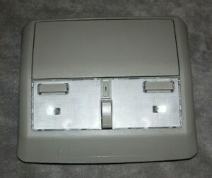 2004 2005 Nissan Maxima Grey Gray Overhead Dome Lamp Console Sunglass Holder