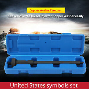 New Diesel Engine Injector Copper Washer Gasket Remover Extracting Tool Us