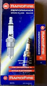 One New Box Ac Delco 8 5 25164643 Spark Plugs Rapidfire Performance Nos