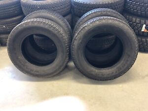 4 New Take Off Goodyear Wrangler Fortitude Ht P265 65r18 112t Tires