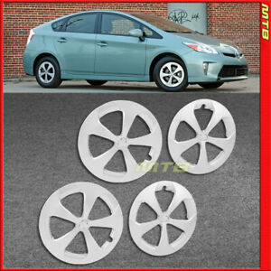 4 Piece 2012 Style 15 In Silver Wheel Hub Cap Covers For Toyota Prius 2010 2015