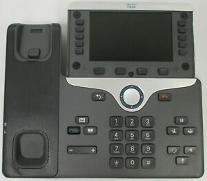 used Cp 8841 Cisco Voip Business Phone Base no Phone cables no Faceplate