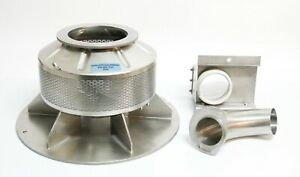 Freund Vector Perforated Coating Pan For Vector Hi coater Ldcs Used 6940