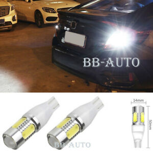 2x High Lumen Tail Reverse Back Up Cree Led Lamp Xenon Light Bulb T10 T15 921