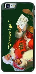 COCA-COLA SANTA CHRISTMAS HOLIDAY PHONE CASE COVER FOR iPHONE SAMSUNG LG GOOGLE