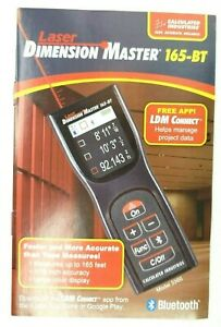 Calculated Industries Laser Dimension Master 165 Bluetooth Distance Measurer