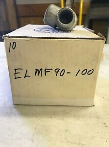Appleton Electric Elmf90 100 Elbow 90 deg Iron Male To Female Connection