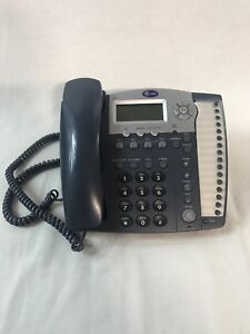 At t 974 4 line Used Small Business System Office Phone With Power Switch