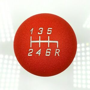 Ssco Wrinkle Red 6 Speed Sr Lite 190 Gram Weighted Shift Knob 12x1 25mm
