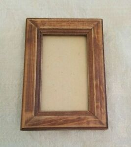 Arts And Crafts Mini Wood Picture Frame Small Antique Vintage