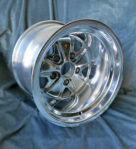 2 Maxilite Wheels For Porsche 911 11x15 Fully Polished W Tv