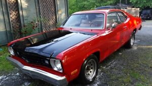 Mopar 1976 Plymouth Feather Duster Slant Six Engine