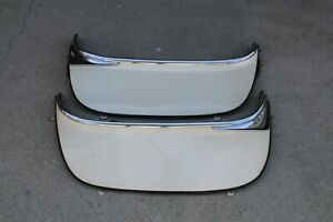 55 56 57 Ford Thunderbird Original Set Of Rear Fender Skirts