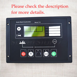 Electronics Spare Parts Generator Auto Start Control Panel Dse710 Fit Deep Sea