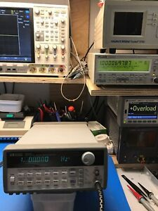 Agilent_33120a Function Arbitrary Waveform Generator 15 Mhz Tested Us36037620
