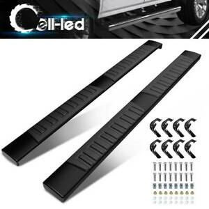 For 07 18 Silverado Sierra 1500 2500hd Crew Cab Running Board Side Step Nerf Bar