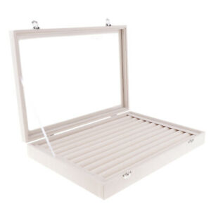 2x 14 Jewelry Display Organizer Earring ring Holder Necklace Storage Boxes