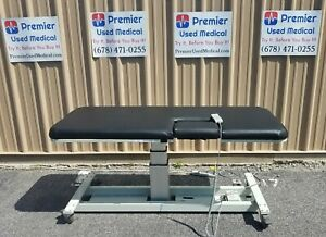 Mpi Ultrasound Table W Hand Control Model 2151 W New Black Upholstery