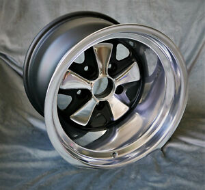 4 Maxilte Wheels For Porsche 911 9x15 11x15 Old School Look W Tv