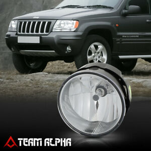 Fits 2004 2004 Jeep Grand Cherokee Lh Rh Clear Oe Bumper Fog Light Lamp W Bulbs