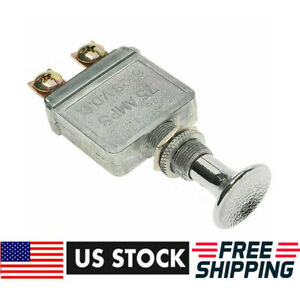 New Heavy Duty 75 Amp Universal Push Pull Switch Light 6 28 Volt Usa Shipping