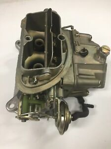 1968 1969 Corvette Holley 2 Barrel Carburetor Tripower Center 4056 1 Dated 873