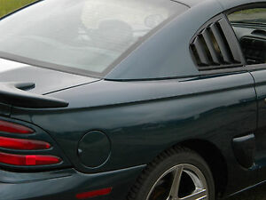 Mustang Quarter Window Louvers 1994 1995 1996 1997 1998