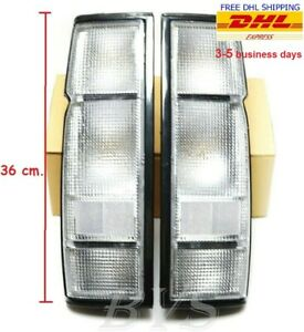 Clear Rear Tail Light Lamp Housing For Nissan Frontier Navara D21 1986 93 Pickup