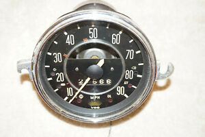 Vw Beetle Karmann Ghia Speedometer With Fuel Gauge 1969 1970 1971 113957023e