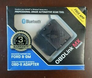 Obdlink Mx Scantool Bluetooth Professional Obd Ii Scan Tool Free Priority Ship