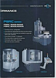 Rotary Surface Grinder Proth Mdl 500s 20 Table Work Height 13