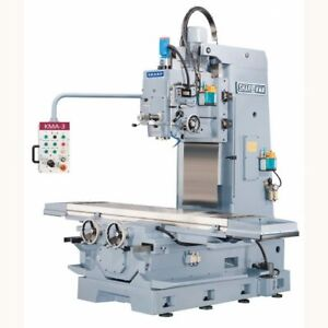 Sharp Sale Kma 1 Milling Machine Nt50 Spindle 10hp 15x67 Table 15x39 Travels