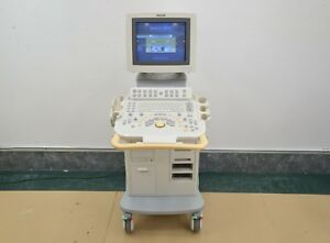 Philips Hd11 Ultrasound System W Sony Up d897 Digital Graphic Printer 15528
