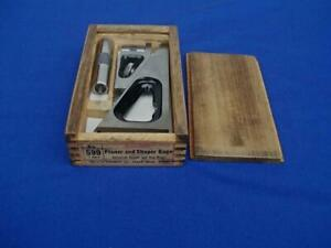 Starrett No 599 Planer And Shaper Gage With 2 Extensions In Orig Box