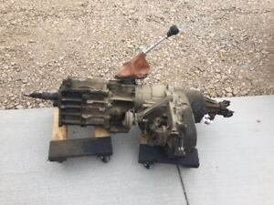 Jeep Amc Eagle 5 Speed Transmission With 4 Wheel Drive Transfer Case