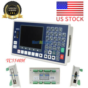 4 Axis Usb Stick G Code Spindle Control Panel Cnc Controller Mpg Stand Alone Us